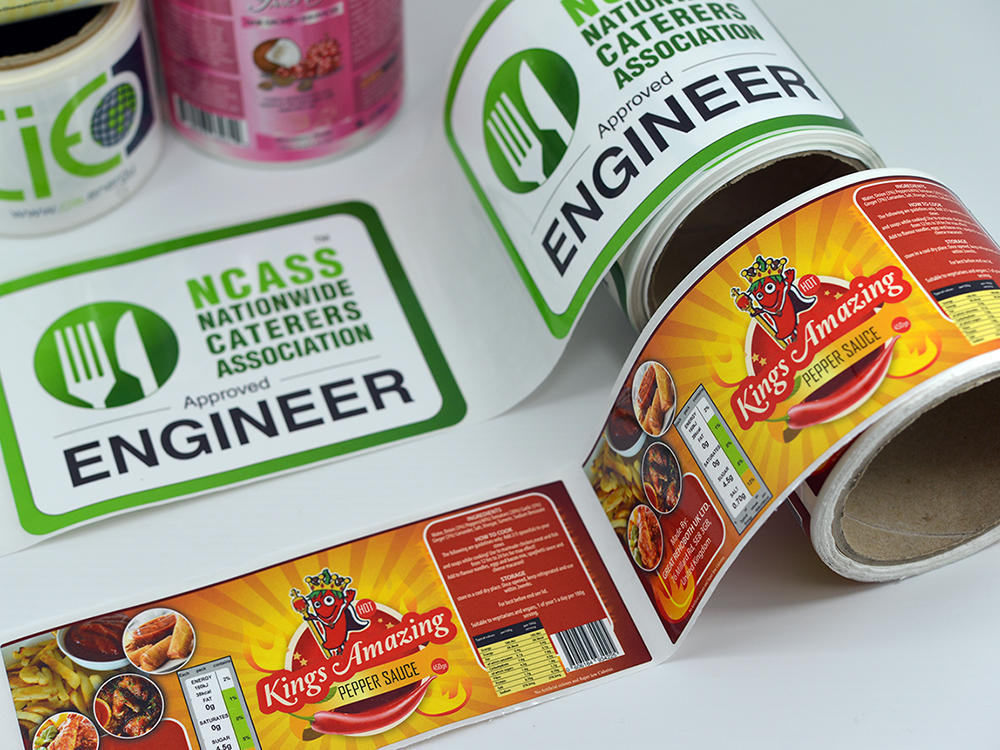 Buy Full Colour Stickers Printed Photo Quality Custom Made