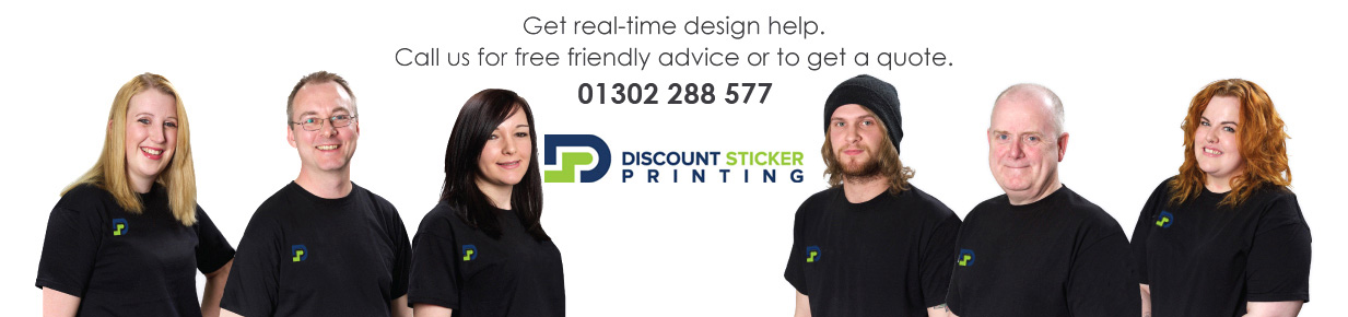 Get real-time design help. Call us for free friendly advice or to get a quote. 01302 288300